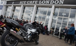 Kawasaki Day at the Ace Cafe
