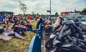 Polish Bike Meet Day at the Ace Cafe