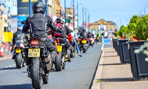 VIDEO: Great Yarmouth Motorcycle Takeover