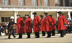 Bike Tours for the Wounded Royal Chelsea Hospital Ride Out