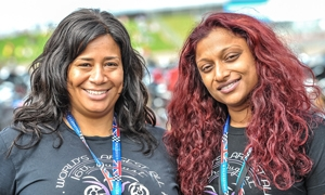 VIDEO: Largest All Female GP Track Parade
