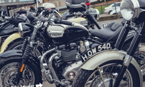 GALLERY: Ace Cafe British & Classic Bike Day