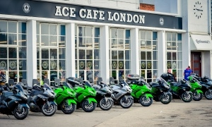 Kawasaki Sunday at Ace Café