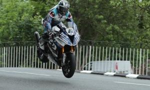 Michael Dunlop wins Superbike TT as Harrison hits 134mph