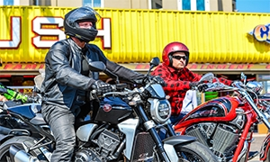 VIDEO: Great Yarmouth Motorcycle Takeover 2018