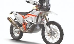 KTM reveals 450 Dakar Rally replica