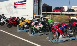 European motorcycle track days with Pacific Motorsport