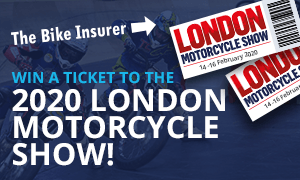 Entry to the 2020 London Motorcycle Show prize draw - Terms & Conditions