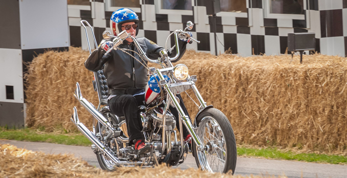 easy rider motorcycle at Goodwood
