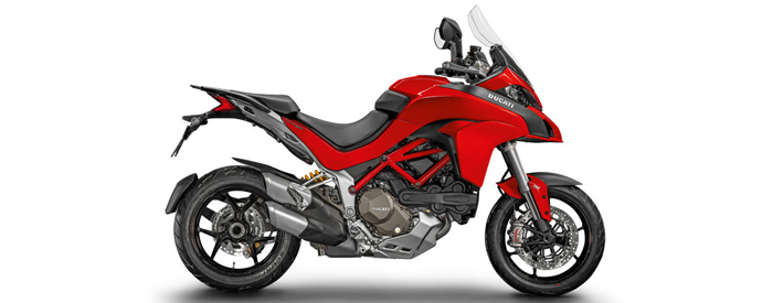 Ducati Multistrada in red 700px