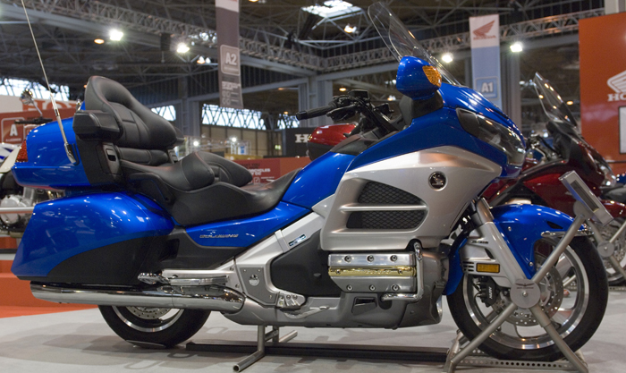Honda Goldwing at Manchester bike show 700px slim