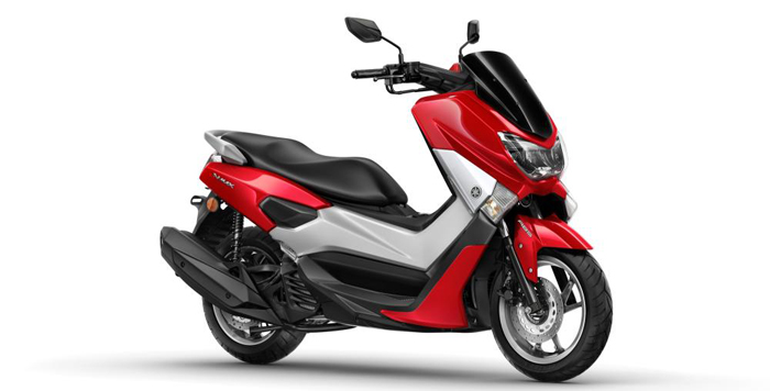 2015 Yamaha G125YM in red