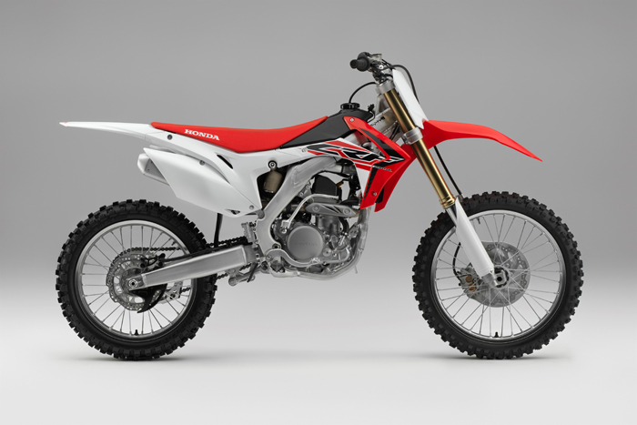 2016 Honda CRF250R revealed