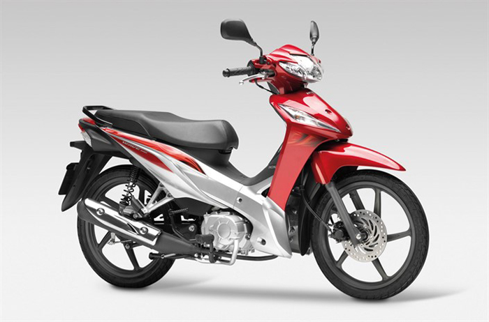 Honda Wave 110I in red