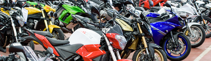 Motorbike auction at BCA