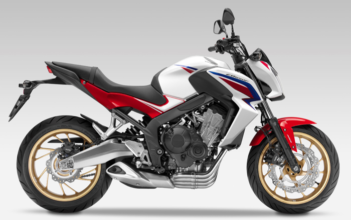 Honda CB650F wide