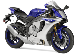 Yamaha YZF R1 in the studio