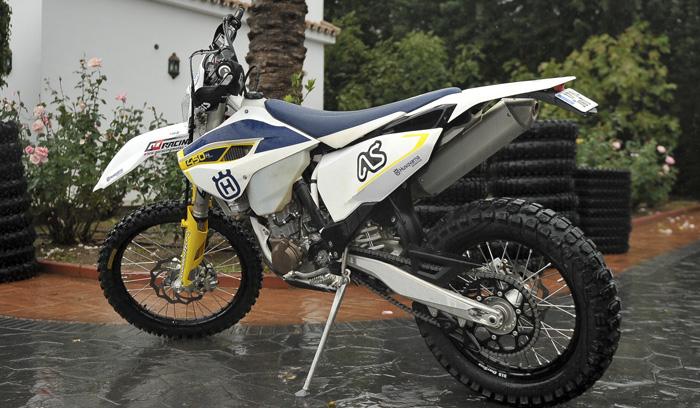 husqvarna 450 in Spain