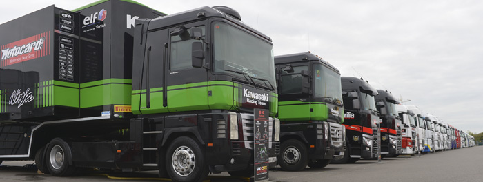 worldSBK trailers and buses 700px