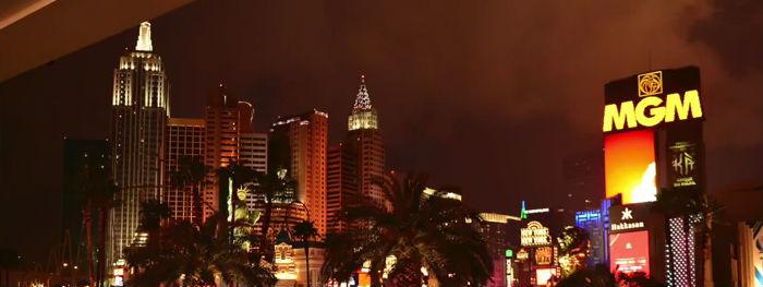 American road trip Las Vegas