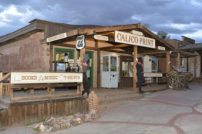 Calico Ghost Town is closed