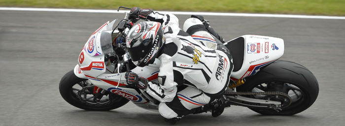 Charley Oakland on track at Donington during the EJC 2015 round four 700px