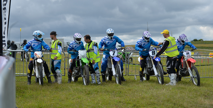 Group of off roaders at MORE in Wiltshire courtesy of the MCIA 700px slim