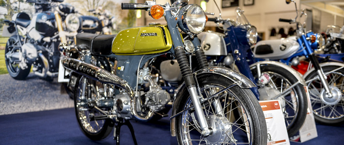 James May bike on display at 2015 London MCN show 700px