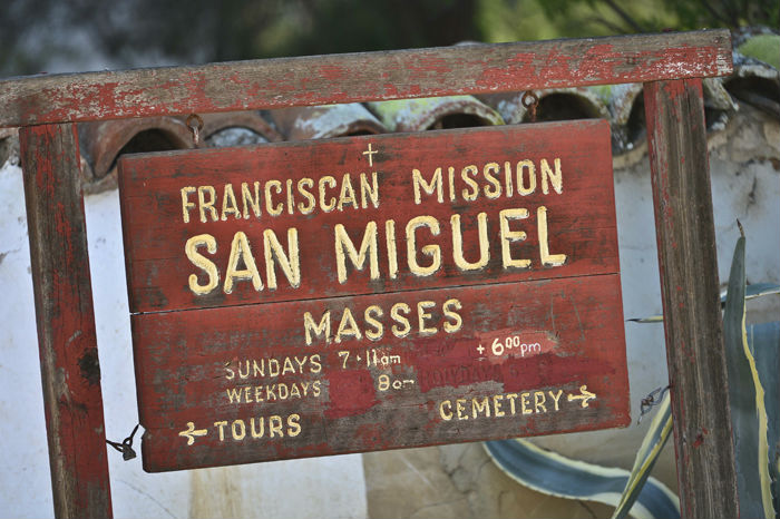San Miguel church in California