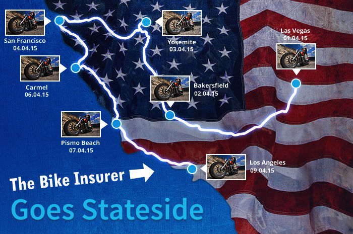 The Bike Insurer goes Stateside masthead