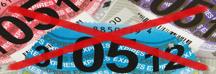 Tax Disc Cross