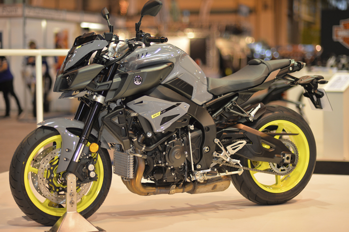 Yamaha MT-10 on show at Motorcycle Live 2015