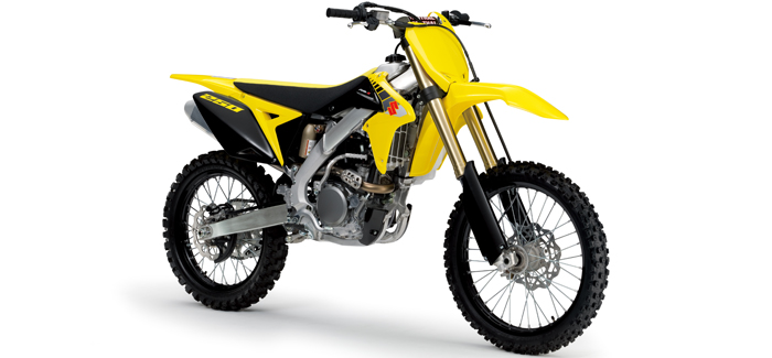 Suzuki RM-Z250 motorcross bike (header)