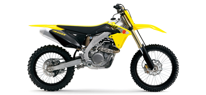 Suzuki RM-Z450 motorcross bike (header)