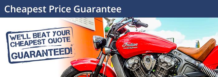 The Bike Insurer Cheapest Price Guarantee