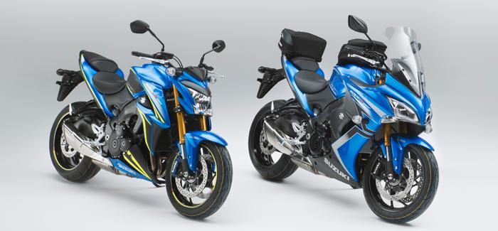 Limited Edition Suzuki GSX-S1000s in blue (header)