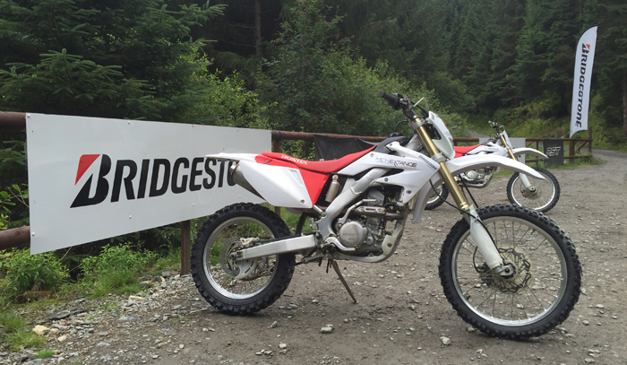 Mick Extance off road experience sponsored by Bridgestone (content 2)