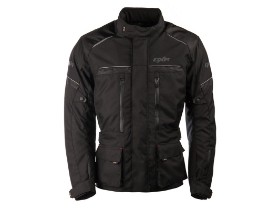 DXR0050 black motorcycle riders jacket