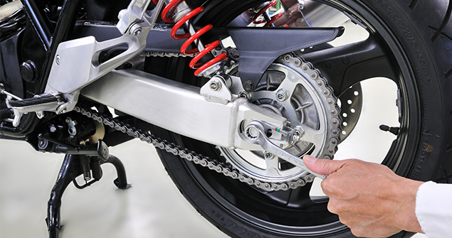 motorcycle gear chain maintenance