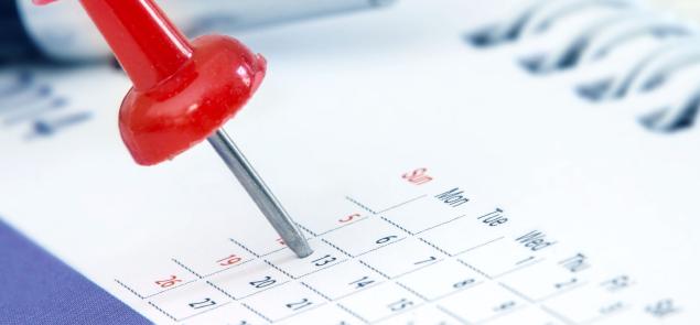 pin in calendar