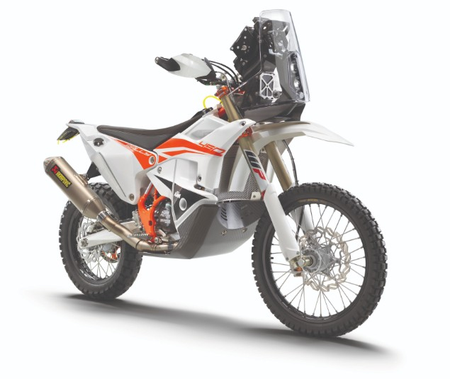 KTM rally replica 2010 bike white orange
