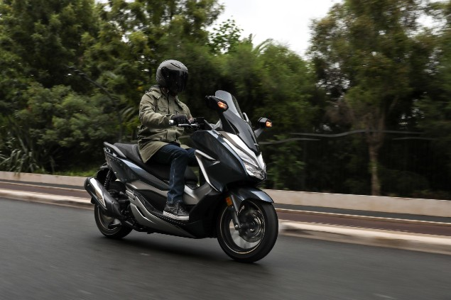 Honda Forza 300 Scooter Review The Bike Insurer
