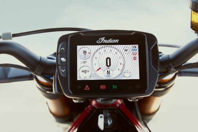 Indian-FTR1200S-4.3-inch-touch-screen-display