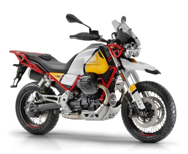 Yellow-Moto-Guzzi-V85-TT-stationary