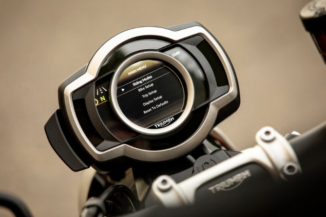 Scrambler 1200xc keyless ignition display