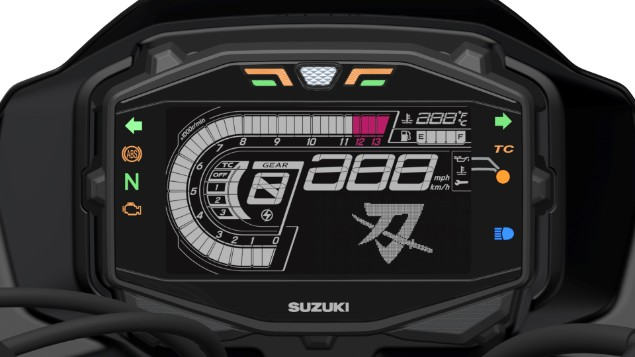 Suzuki-Katana-LCD-dashboard-meter