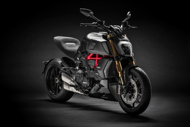 Ducati Diavel 1290 S motorcycle stationary