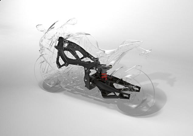 BMW S1000RR suspension