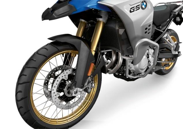 BMW F850 GS front suspension
