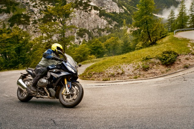 BMW R1250GS Adventure 2019 in action